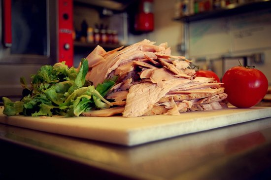 Ploughboy inc.: makings of Grandma's turkey sandwich