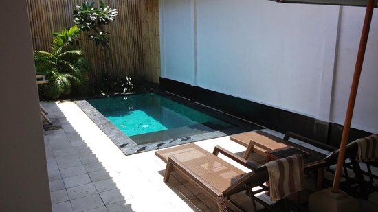 XQisit Spa : Private pool
