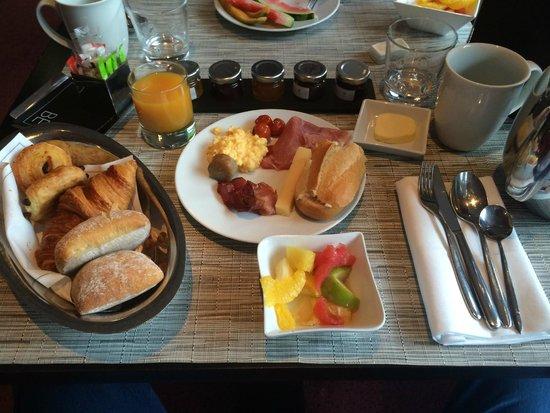 Sofitel Brussels Europe: Superbe et délicieux petit dejeuner