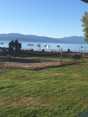 Tahoe Sands Resort: View of Lake Tahoe from Tahoe Sands unit #204