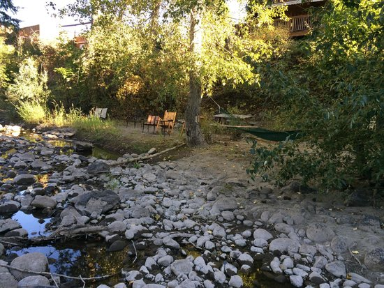 View of Twisp River Suites from the River