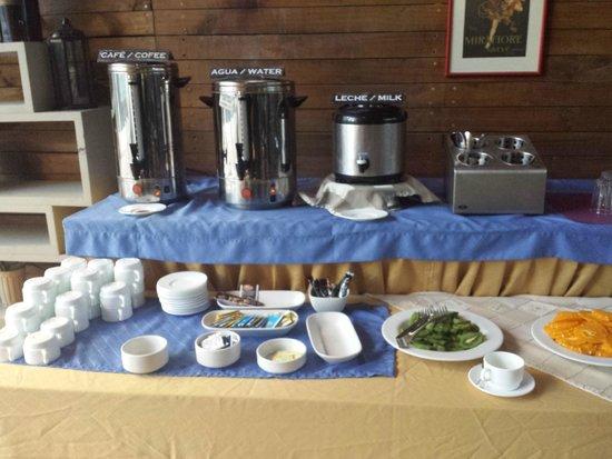 Tempo Rent Apart Hotel: Café da manhã