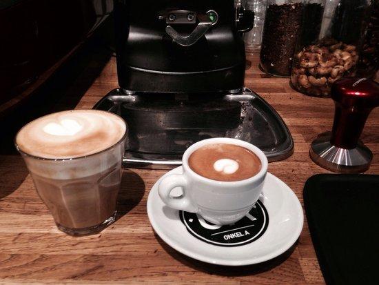 Onkel A: Absolut, ubetinget himmelsk og utrolig afhængighedsskabende kaffe...!
