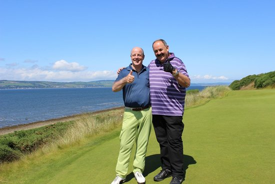 Linksview Guest House Carnoustie: Carlos & Bruno