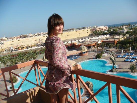 Hurghada SeaGull Beach Resort : Вид лестницы