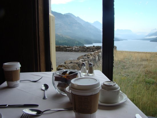 Prince of Wales Hotel: View from Dining Room