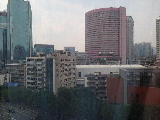 Starway Hotel Guangzhou Huanshi East Road : Из окна