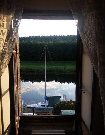 Port-Launay, France : vista dalla camera Gwenn ha Du