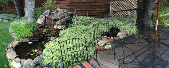 Frisco Lodge: Serene courtyard