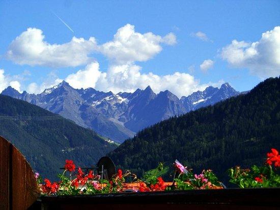 Hotel Fliesserhof: Aussicht vom Balkon