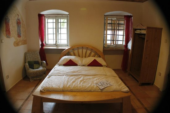 double bedroom picture of hostel krumlov house writeaway