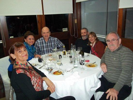 El Mirador Hotel and Spa: Durante la cena