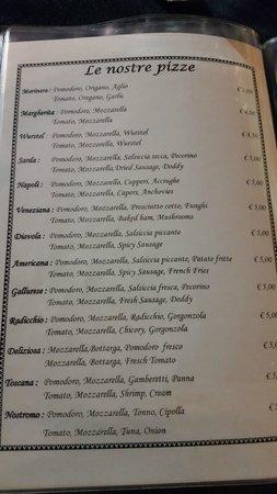 Menu Ii Picture Of Ristorante Pizzeria Sergent Pepper S La Maddalena Tripadvisor