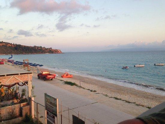 Lourdas Beach Apartments View From Rooftop Bar