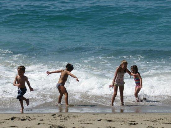 Aliso Beach Park : Kids Love This Beach!