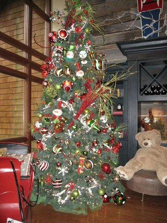 Alderbrook Resort & Spa : Lobby decorations