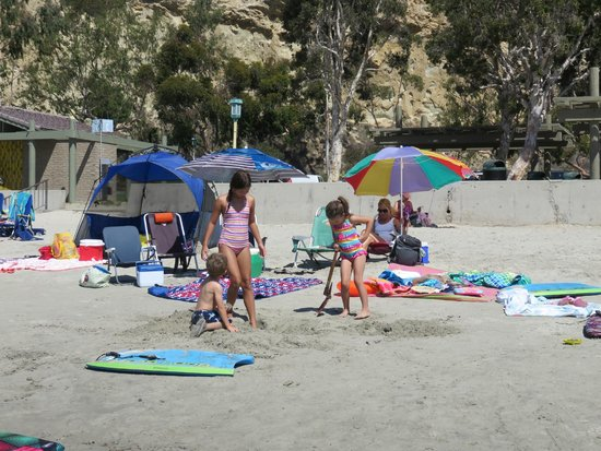 Dana Point, Kalifornia: The beach area