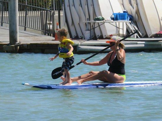 Dana Point, Californien: Brave little guy!