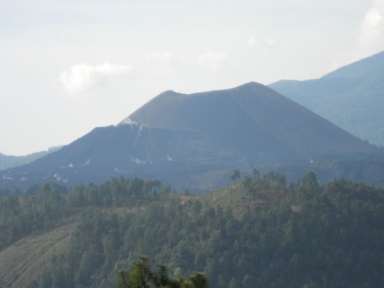 Paricutin volcano from Angahuan