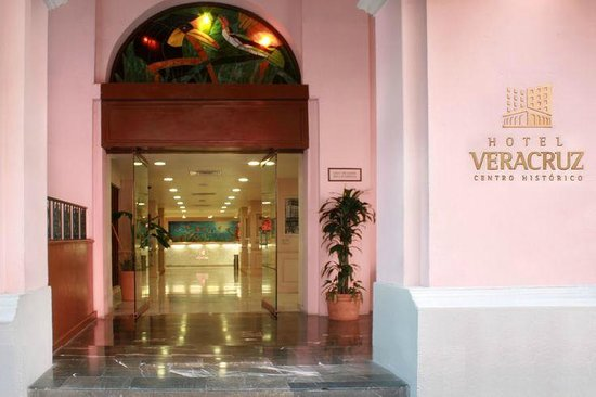 Veracruz Centro Histórico: Entrada al Hotel Veracruz