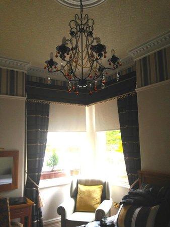 Oakfold House: Lovely lighting