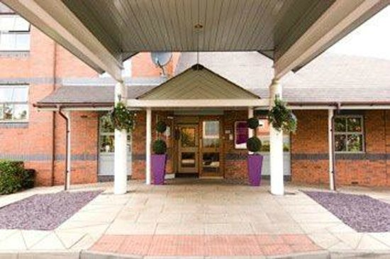 Premier Inn Sheffield (Arena) Hotel: Premier Inn, Sheffield. (Main Entrance)