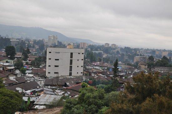Hotel Soramba: Vistas desde el hotel (hab. piso 4)
