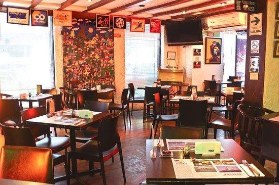 Cafe Colombia en Peru