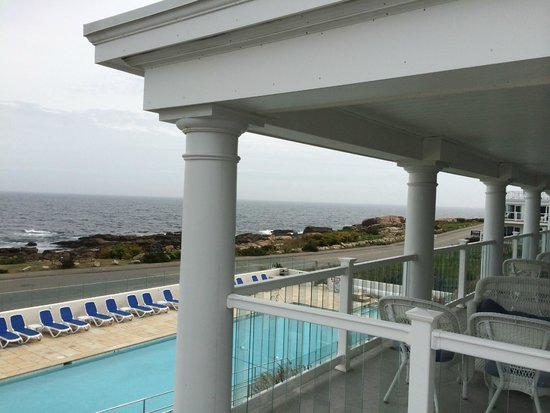 Ocean House Hotel at Bass Rocks: view from room