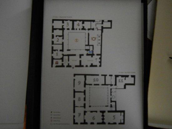 Inkaterra La Casona: Floor Plan
