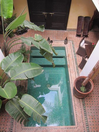 Riad Aguaviva: a pool you can not resist after a long walk in the Medina