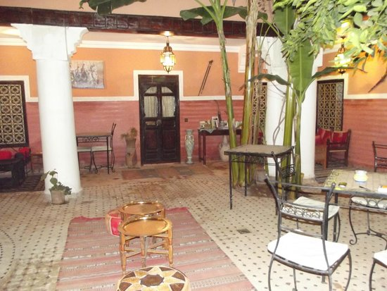 Riad Yamsara: Le patio