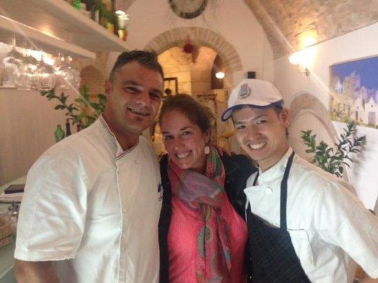 Osteria del Coco Pazzo da Stefano: Happy diner!