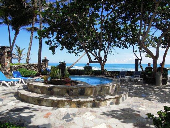 Hotel El Magnifico: Hot tub with a view of ocean