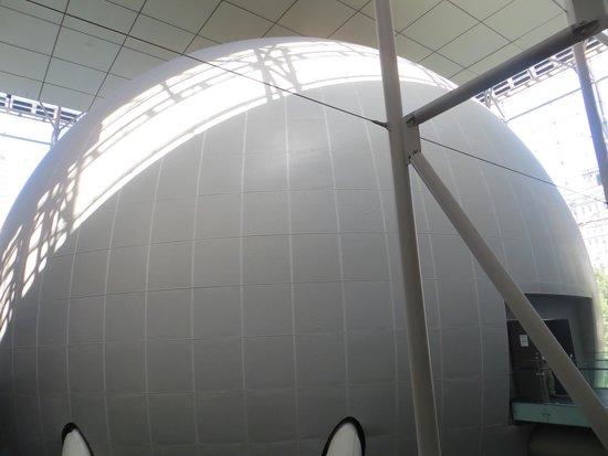 Hayden Planetarium : The Space Theatre Sphere