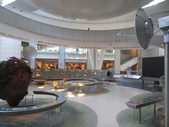 Hayden Planetarium : The Space exhibition