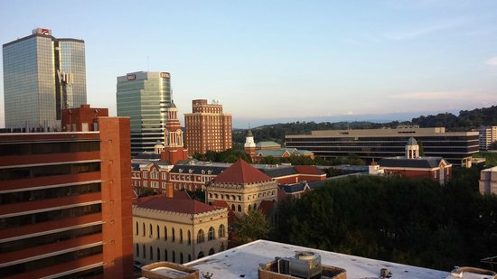 Hilton Knoxville : view from room 1111