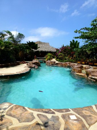 Canoa Beach Hotel: The lagoon pool