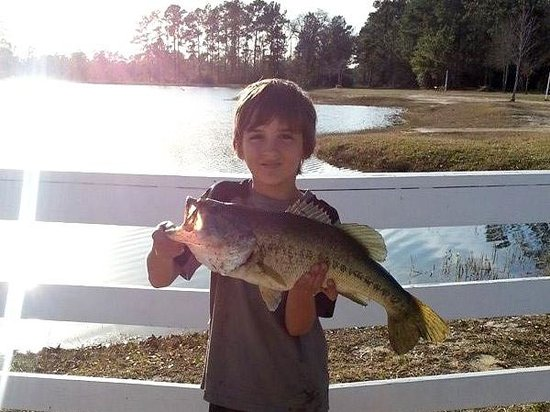 Bring your rv 5th wheel or camper picture of little for Lake charles fishing