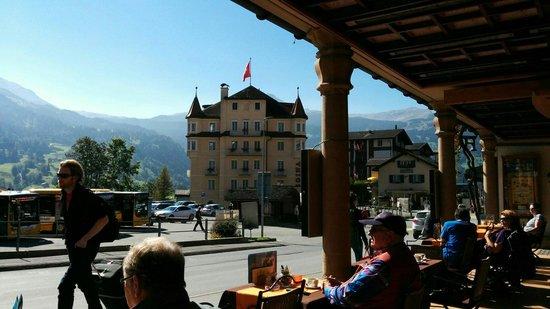 Central Hotel Wolter: Terrasse pour un apéro en fin de journée.