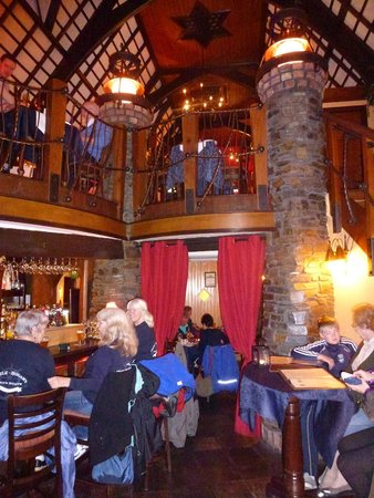 The Locke Restaurant's warm and interesting interior