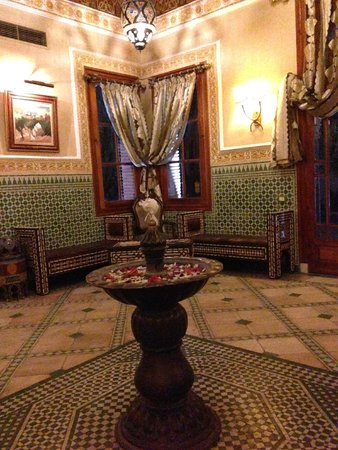 Palmeraie Palace: Cosy Golf Reception