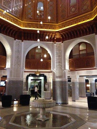 Palmeraie Palace: Main Palace Hotel Reception