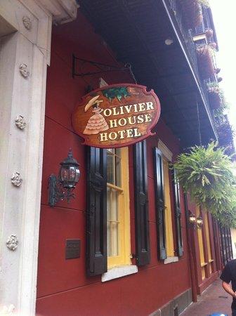 Olivier House Hotel: Sign