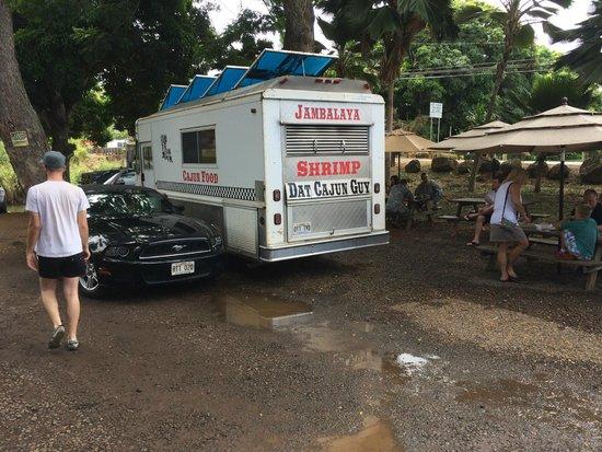Dat Cajun Guy: The Shrimp Truck Haleiwa
