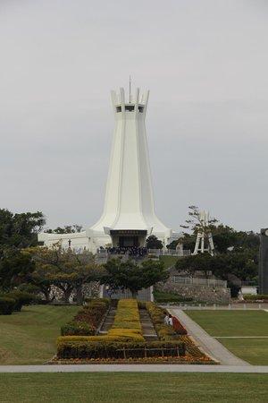 Okinawa Peace Memorial Park: The tower