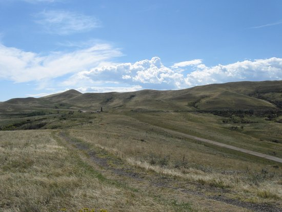 Banner, WY: Area of retreat back to the monument