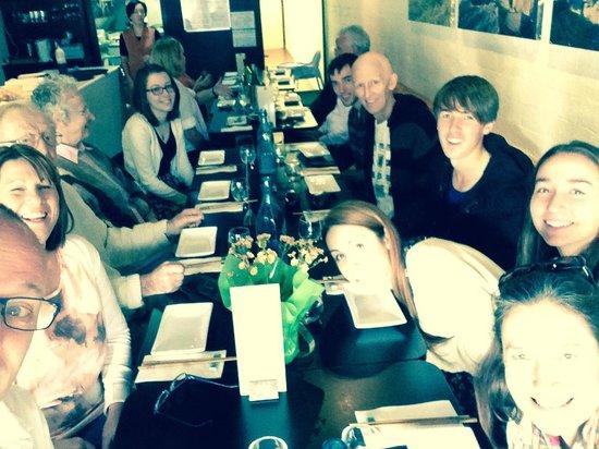 Kai Japanese Restaurant: The Powell Family Celebration.