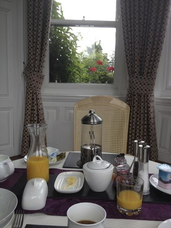 Troy Hall Bed and Breakfast: Breakfast!