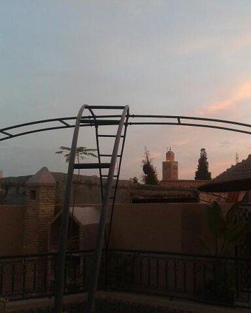 koutubia desde  Riad Agdim